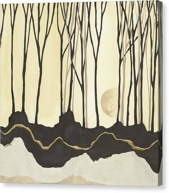 Black Forest Canvas Print - Silhouette V by Chris Paschke
