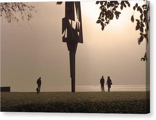 Silhouettes I Canvas Print