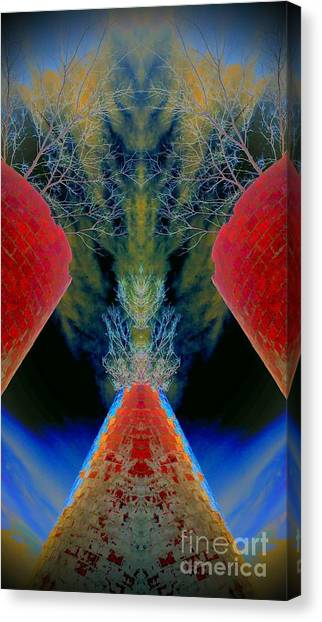 Silo Sky Canvas Print