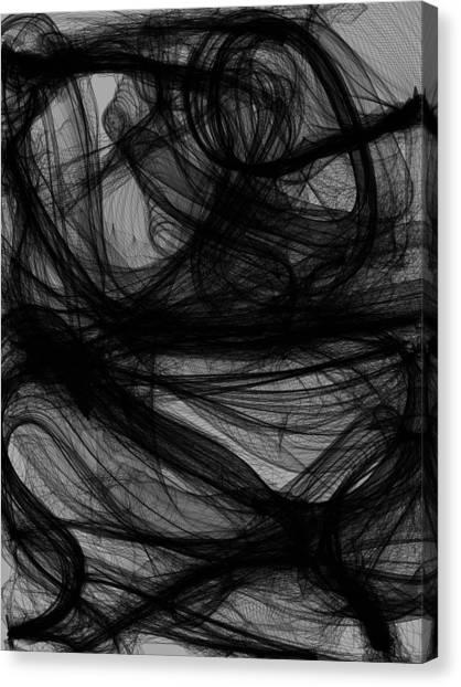 Silt Canvas Print by Guillermo De Llera