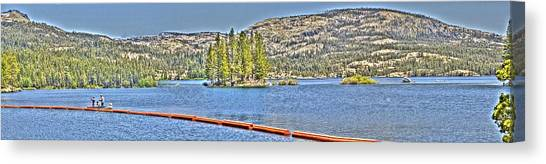 Silver Lake 2 Canvas Print