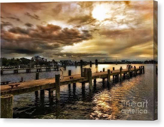 Silver Lake Harbor Canvas Print