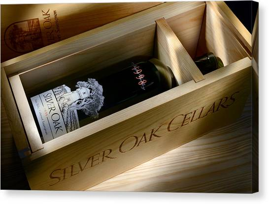 Cognac Canvas Print - Silver Oak  by Jon Neidert