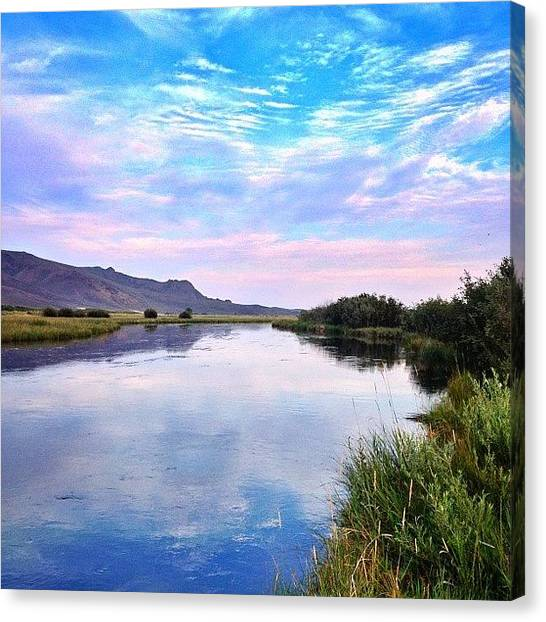 Idaho Canvas Print - #silvercreek #idaho #flyfishing by Cody Haskell