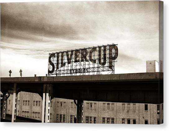 Silvercup Studios Canvas Print