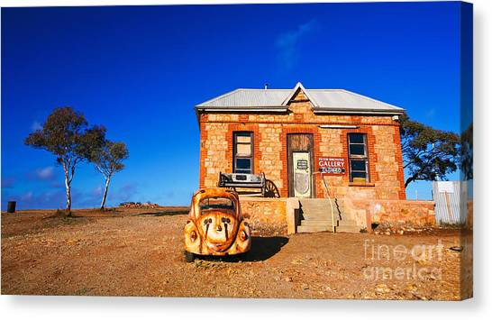Silverton Art Gallery Canvas Print