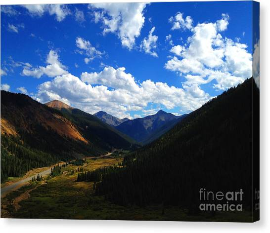 Canvas Print featuring the photograph Silverton by Kate Avery