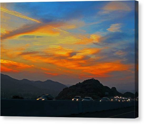 Simi Valley Outbound 1 Canvas Print