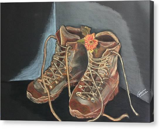 Simon's Boots Canvas Print