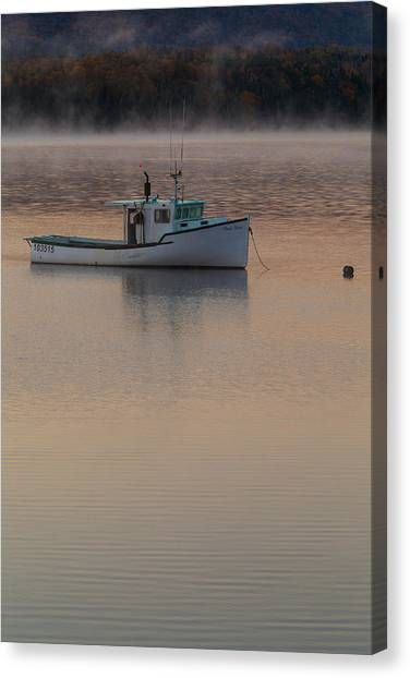 Cabot Trail Canvas Print - Simple Daybreak by Nicole Robinson