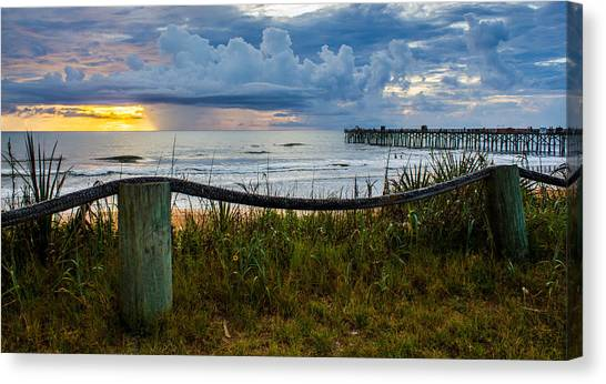 Simple Flager Canvas Print