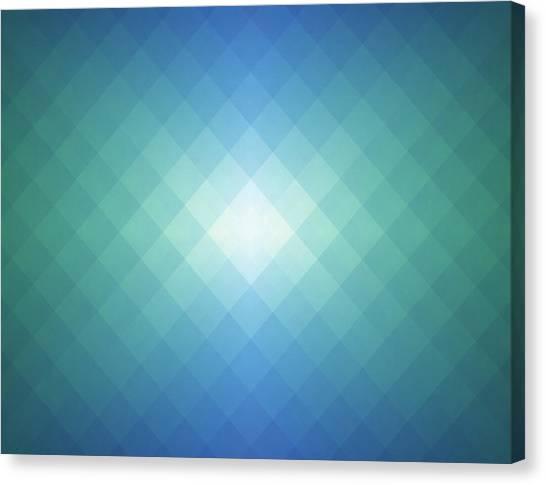 Simple Pixels Background Canvas Print by Simon2579