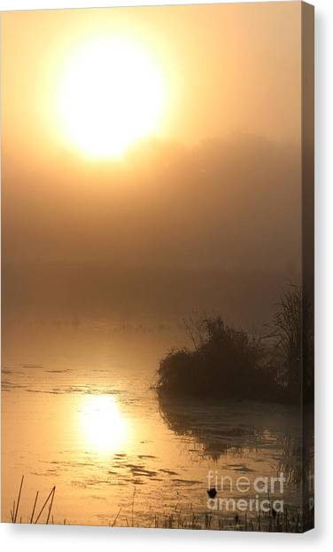 Simple Sunrise Canvas Print