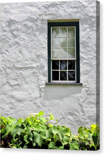 Simple Window Canvas Print