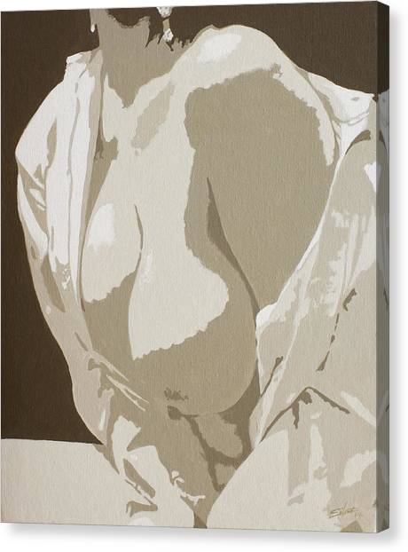 Canvas Print - Simplicity 3 by John Silver