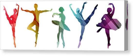 Simply Dancing 3 Canvas Print