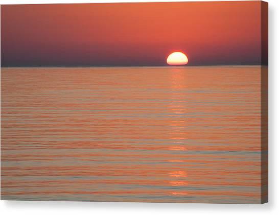 Simply Sunset Canvas Print