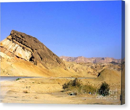 Sinai Desert  Canvas Print