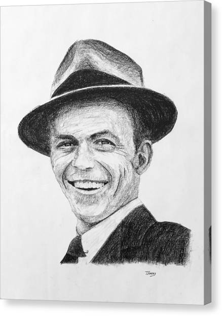 Frank Sinatra Canvas Print - Sinatra by John Emery