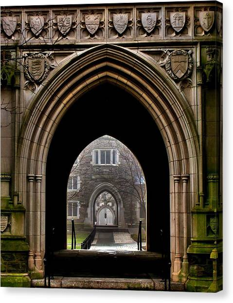 Ivy League Canvas Print - Since 1746 by Benjamin Yeager