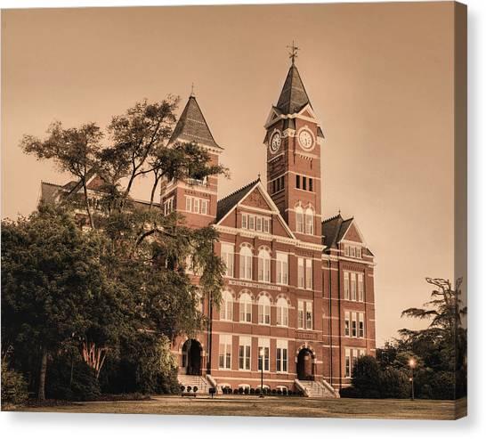 Auburn University Canvas Print - Since 1856 by JC Findley