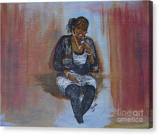 Sing Sandy Sing Canvas Print