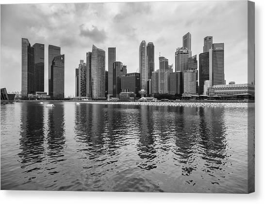 Singapore Skyline Canvas Print - Singapore 10 by Tom Uhlenberg