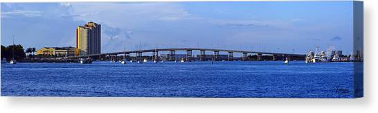 Singer Island Bridge Canvas Print