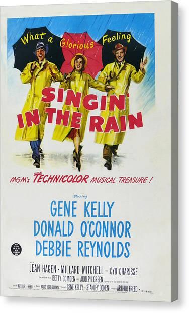Singin In The Rain Canvas Print