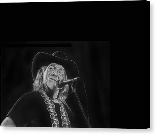 Singing Willie Canvas Print
