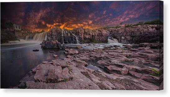 Sioux Falls Canvas Print