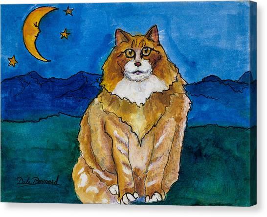Sir Drake A Lotta Cat IIi Canvas Print