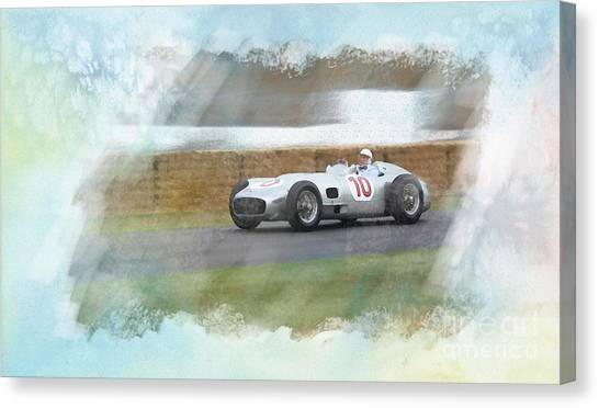 Sir Stirling Moss Canvas Print