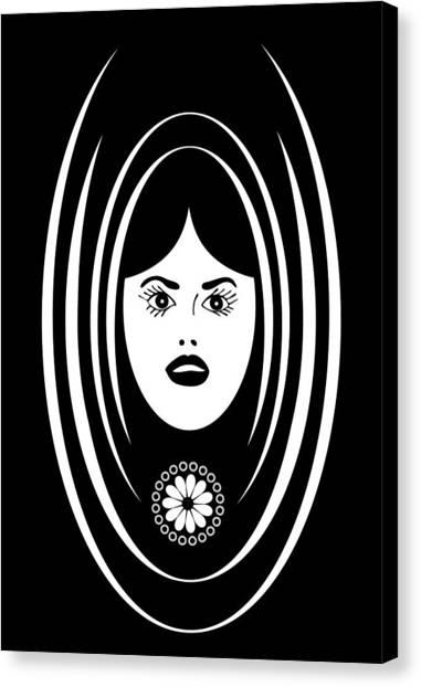 Siren Canvas Print by Frank Tschakert