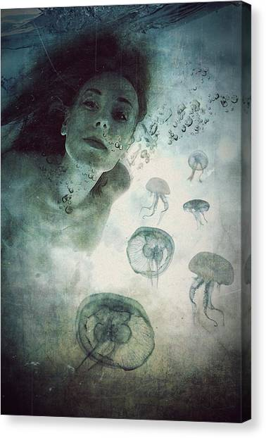 Breathe Canvas Print - Siren by Lucynda Lu