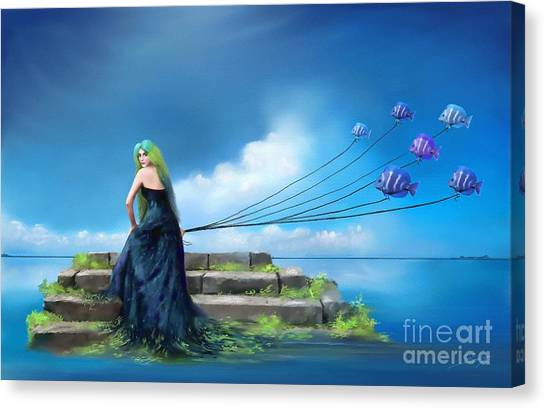 Sirens Lure Canvas Print