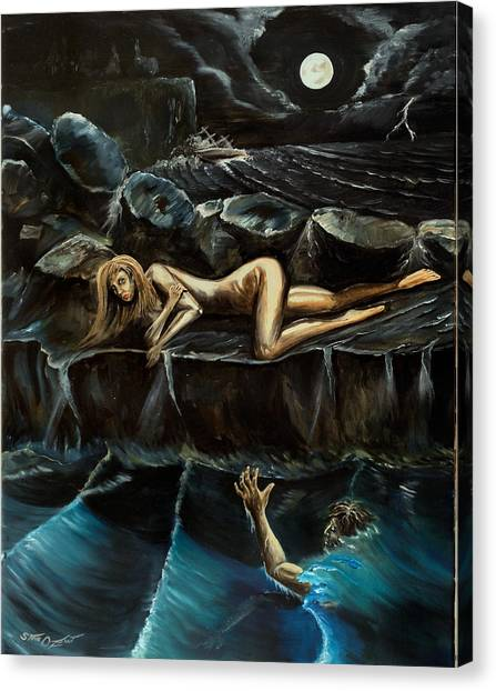 Sirensong Canvas Print