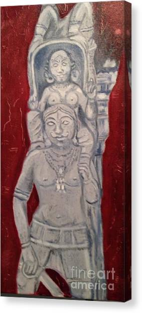 Sirpam- Sculpture Painting Canvas Print