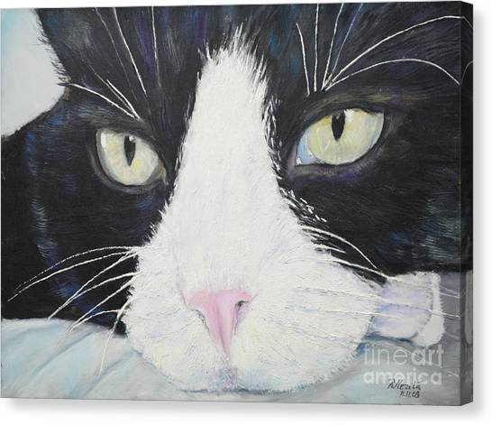 Sissi The Cat 2 Canvas Print