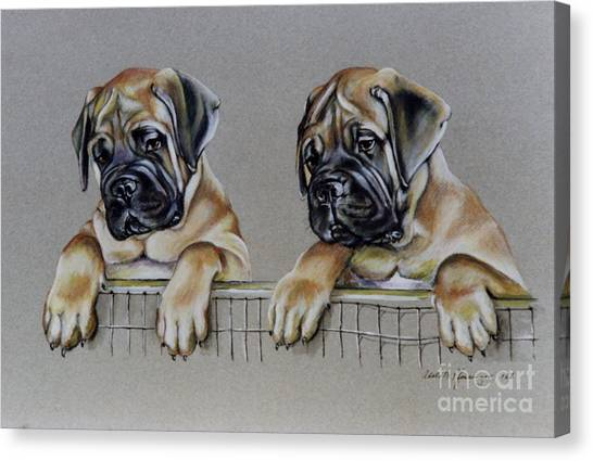 Sister And Brother Canvas Print