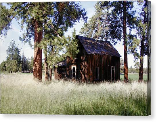 Sisters Homestead Canvas Print by Ray Finch