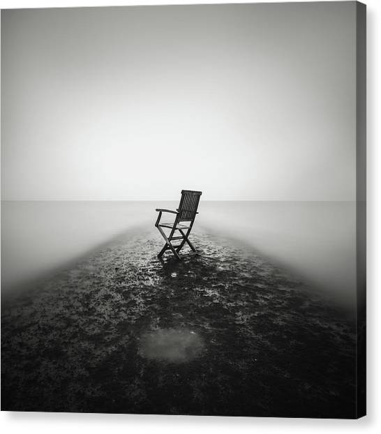 Sit Down And Relax Canvas Print by Christophe Staelens