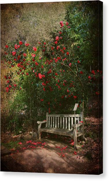 Uc Berkeley Canvas Print - Sit With Me Here by Laurie Search