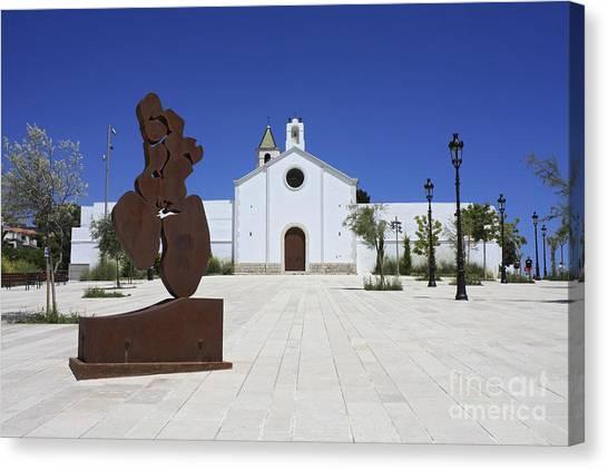 Sitges Spain Canvas Print