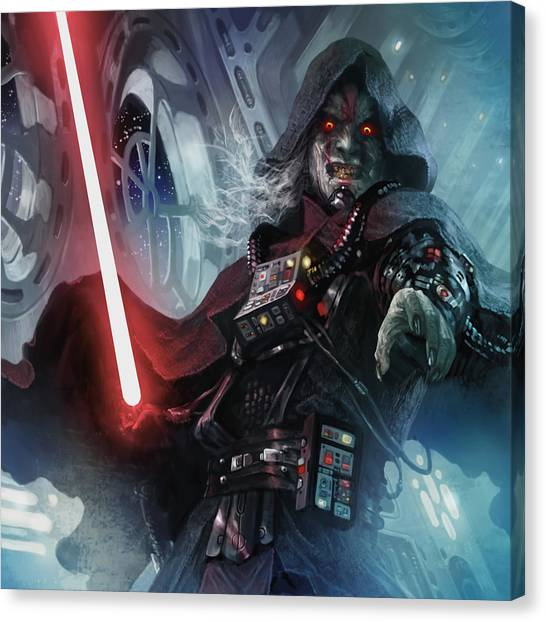 Sith Cultist Canvas Print