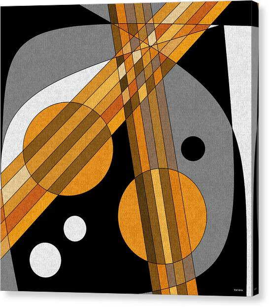 Six Strings Canvas Print
