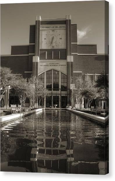 Oklahoma University Canvas Print - Six Thirty Three by Ricky Barnard