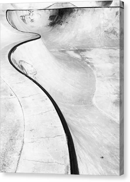 Skateboarding Canvas Print - Sk8 by Aaron Aldrich
