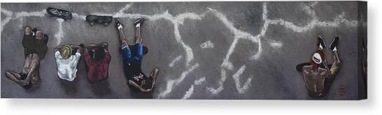 Skater Boys Canvas Print