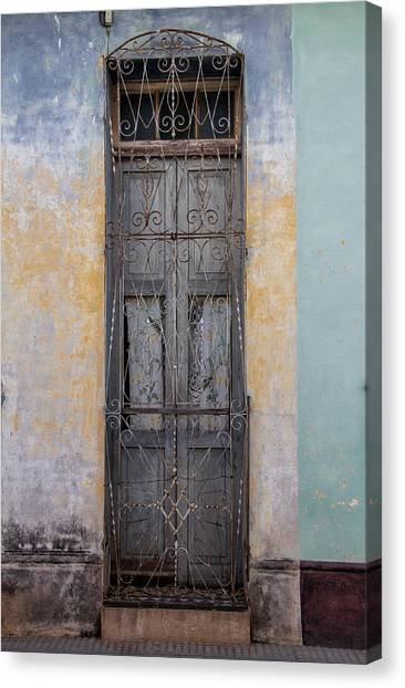 Skinny Door Canvas Print